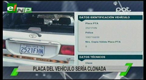 Policía que causó fatal accidente manejaba un vehículo con placa clonada