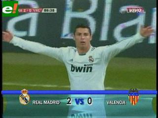 El Real Madrid sufre pero gana ante un buen Valencia C.F.