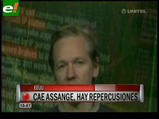 """EEUU celebra la """"buena noticia"""" de la detención de Assange"""