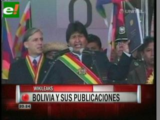 Vicepresidencia de Bolivia socializa en la web documentos filtrados por WikiLeaks
