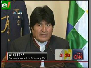 "WikiLeaks. Chávez ""payaso"" y Morales ""ignorante"""