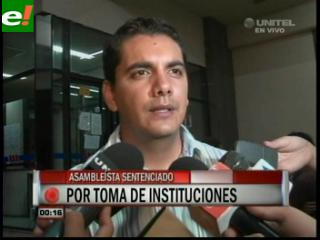 Dictan 3 años de cárcel para Jorge Santistevan