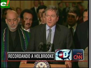 Muere Richard Holbrooke enviado especial para Afganistán y Pakistán
