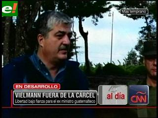 España: ex ministro guatemalteco Vielman libre bajo fianza de 100.000 euros