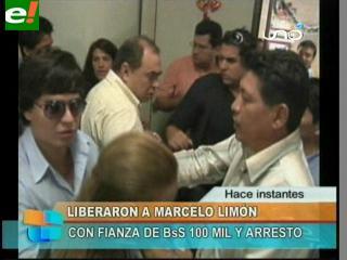 Liberan a Marcelo Limón con una fianza de 100 mil bolivianos