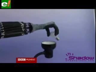 """Un futuro con robots de manos """"casi"""" humanas"""
