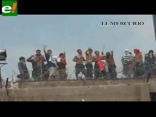 Violento motín en la cárcel de Antofagasta deja 45 heridos