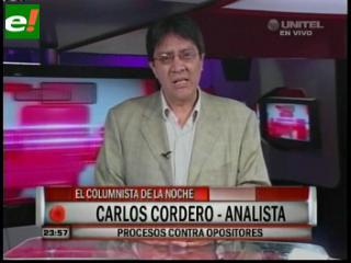 """Carlos Cordero: """"Necesitamos fortalecer la democracia"""""""