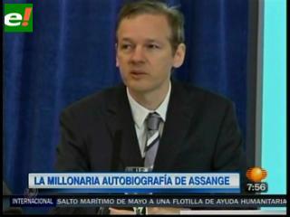 Creador de Wikileaks vende su biografía en 1,5 millones de dólares