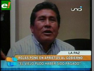 """Senador Rojas: """"El Viejo puedo haber sido pagado por el Gobierno"""""""