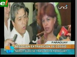 Gobierno presenta documentación a Paraguay para evitar que se de refugio a Cossío
