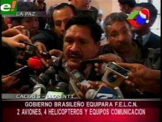 Bolivia confirma que Brasil incrementará su cooperación contra el narcotráfico