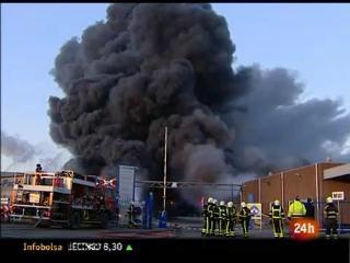 Incendio en una empresa de productos químicos de Holanda