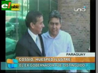 """Declaran """"huésped ilustre"""" a Mario Cossío"""