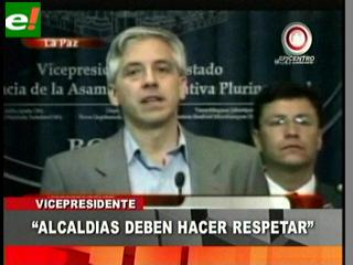 """García Linera: """"El Gobierno no aceptó ningún incremento de pasajes"""""""