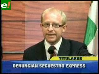 Secuestran a Eliana Camacho asesora parlamentaria del Diputado Adrián Oliva