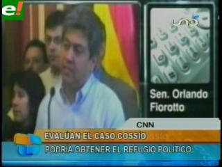 """Senador Fiorotto: """"Para el refugio de Cossío no se evalúan cuestiones internas de Bolivia"""""""