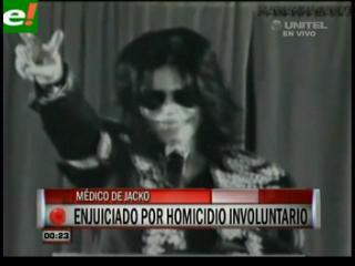Habrá juicio contra el médico de Michael Jackson