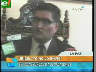 """Mario Uribe. """"Gilbert Muñoz no tenía autorización de reunirse con Isaac Ávalos"""""""