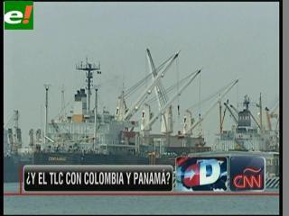 Colombia y Panamá a la espera del TLC