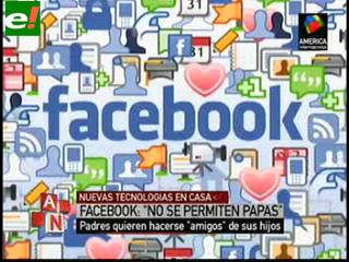 Facebook, no apto para padres