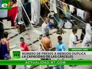 Superpoblación en las cárceles: un problema en Latinoamérica