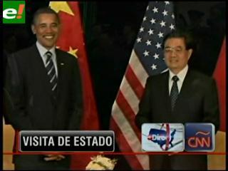 Presidente chino inicia visita de Estado a EEUU