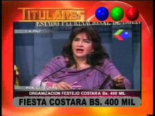 Gobierno gastará casi medio millón bolivianos para festejar quinto año de mandato