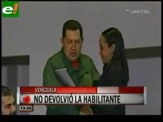 """Chávez: """"No devolveré la Ley Habilitante"""""""