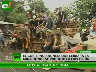 Recuperan los cuerpos de todos los mineros fallecidos en Colombia