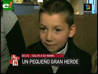 Héroe a los 6 años