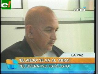 """""""El Viejo"""" es dado de alta y se alista su traslado al penal de El Abra"""
