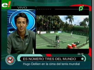 Un tenista boliviano se ubica entre los tres mejores del mundo