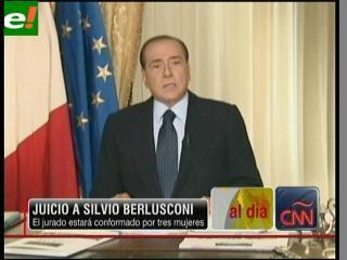 Berlusconi será juzgado en abril por prostitución de menores y cohecho