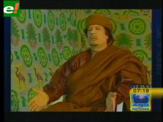 Gadafi desafía a los aliados