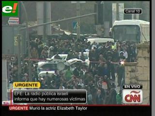 Estalla una bomba en Jerusalén