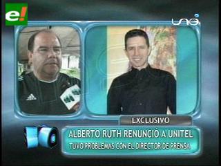 NSA: Presentadores de Unitel se marchan por diferencias con Carlos Rocha