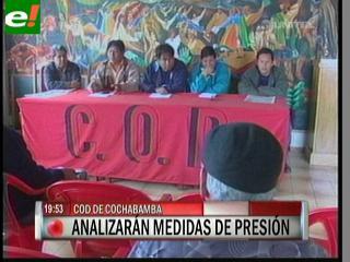 La COB anuncia más protestas