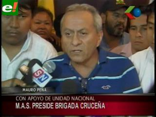 """Con voto de """"Tonín"""" Franco, Mauro Peña es el nuevo presidente de la Brigada"""