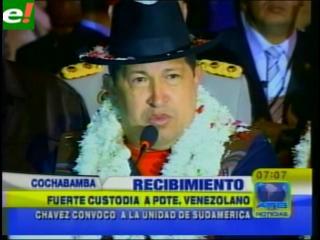 """Chávez: """"El imperio se volvió loco"""""""