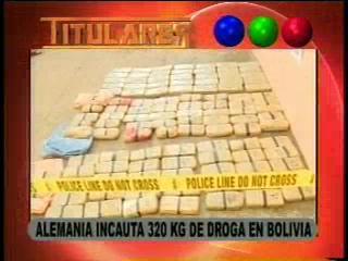 Alemania incauta 320 kilos de cocaína procedentes de Bolivia