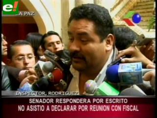 Ávalos solicita declarar por escrito sobre la reunión que sostuvo con el fiscal Muñoz