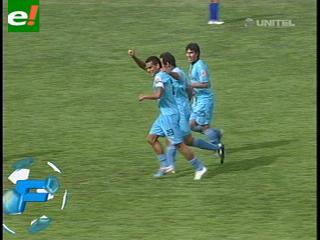 Bolívar vence a La Paz FC por 3 – 2 gracias un tiro libre de Ferreira en el tiempo adicional