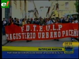 La COB se moviliza hoy en La Paz