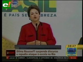 Dilma Rousseff condena masacre en escuela