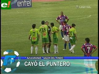 La Paz FC gana al puntero Oriente Petrolero