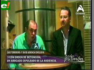 Audiencia del caso Rózsa: Tres ordenes de detención, un abogado expulsado y brasileros vetados