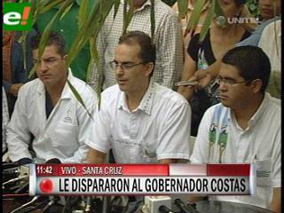 Informe de la Clínica Foianini: Rubén Costas está fuera de peligro