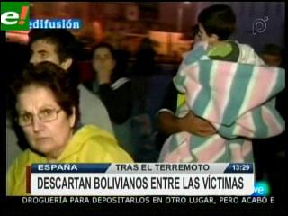 Sismo en Lorca no registró víctimas bolivianas