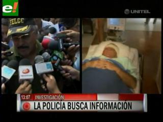 Policía busca a delincuentes que disiparon contra Rubén Costas